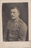 Soldat WK I Mit Orden, Fotokarte - 1914-18