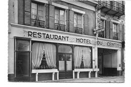 89  AVALLON HOTEL DU CENTRE TRES  BON ETAT     2 SCANS - Avallon