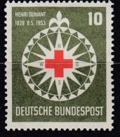 BRD 164, Ungebraucht *, Henri Dunant 1953 - BRD