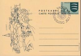 LIECHTENSTEIN P 47 I, Mit Sonderstempel: Vaduz Vermählung 30.7.1967 - Stamped Stationery