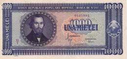 * ROMANIA 1000 LEI 1950 P-87a UNC [RO087] - Romania