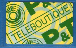 LUSSEMBURGO - TELEBOUTIQUE.  Usata .   Vedi Descrizione. (6) - Lussemburgo