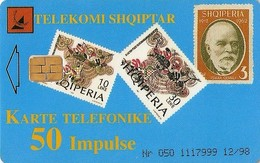 *ALBANIA* - Scheda Usata - Albania