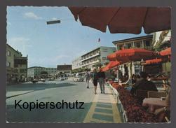 ÄLTERE POSTKARTE VADUZ HAUPTORT VOM FÜRSTENTUM LIECHTENSTEIN PARTIE IM STÄDTLE BP-Tankstelle Paar Couple Cpa AK Postcard - Liechtenstein
