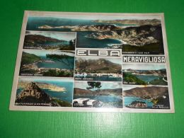 Cartolina Elba - Vedute Diverse 1957 - Livorno