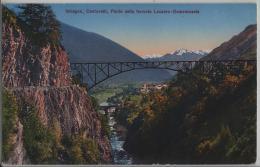 Intragna, Centovalli, Ponte Della Ferrovia Locarno-Domodossola - Photo: Carl Künzli - TI Tessin