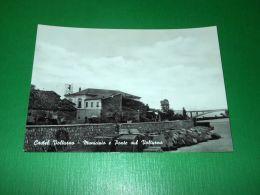 Cartolina Castel Volturno - Municipio E Ponte Sul Volturno 1955 Ca - Caserta