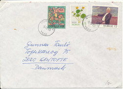Norway Cover Sent To Denmark STJÖRDAL 5-12-1983 - Norwegen