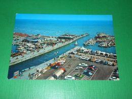 Cartolina Riccione - Porto Canale E Darsena 1980 Ca - Rimini