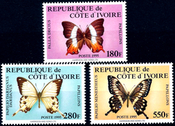 IVORY COAST 1995 Butterflies, Insects, Fauna MNH - Costa De Marfil (1960-...)