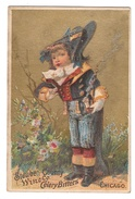 Victorian Advertising Trade Card Steuben County Wine Co Celery Bitters Chicago - Trade Cards
