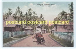 CAGAYAN ALONG THE ROAD, Philippines. OLD POSTCARD  C.1910 #670. - Philippines