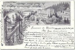 Souvenir De Macolin (Drahtseilbahn Funiculaire)          1903 - BE Berne