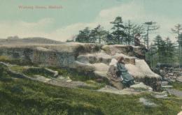 R049654 Wishing Stone. Matlock. G. Marsden - Cartoline