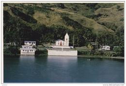 Guam Island - Hafa Adai - San Dionisio Church Eglise - ( 2 Scans ) - Guam