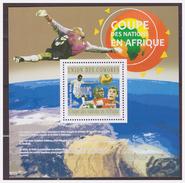 0517 Comores 2010 Soccer S/S MNH - Afrika Cup
