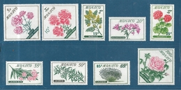 Monaco Timbres De 1959  N°514 A 522  Neufs * - Monaco