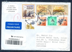 D102-  Postal Used Cover. Posted From Lithuania To Pakistan. Lietuva. - Lithuania