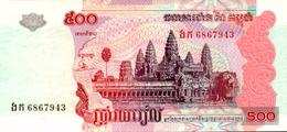 CAMBODGE 500 RIELS De 2004  Pick 54b  UNC/NEUF - Cambodge