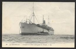 """LA ROCHELLE Bateau """"LOIRE"""" Embarquant Les Forçats (LL) Charente Maritime (17) - La Rochelle"""