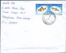 D149- Pakistan Postal Used Cover. Marine Life. Fish - Pakistan