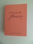 Tigette Ou  Tube De Parfum Echantillon  1,3 Ml Eau De Parfum Estee LAUDER - Miniatures Modernes (à Partir De 1961)