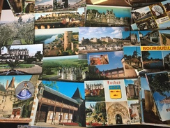 Indre Et Loire 37 Lot De 270 Cartes Tours Bourgueil Châteaux Jardins Communes Etc.... - Cartes Postales