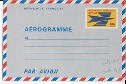 REUNION - 1970 - RARE AEROGRAMME OISEAU STYLISE - COTE YVERT = 115 EURO - Reunion Island (1852-1975)