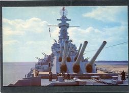 CPSM Format CPA - BATTLESHIP USS ALABAMA - Krieg