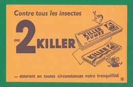 Buvard - 2 KILLER Contre Tous Les Insectes - K