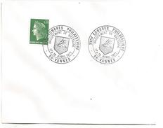 OBLITERATION CONGRES PHILA BRETAGNE à VANNES 1971 - Gedenkstempel