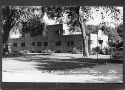 Carte Photo - KNOXVILLE, IOWA - The Hospital - Etats-Unis