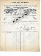 75 - Paris - PARIS-12e - Facture ALLCOCK - Hameçons, Cannes Et Articles De Pêche - 1919 - REF 264 - France