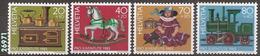 1983 - YT 1189 à 1192 ** - VC: 5.00 Eur. - Nuovi