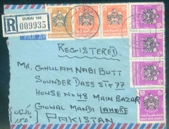 D155- Cover Posted From UAE To Pakistan - United Arab Emirates