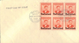 D159- First Day Cover Of Philippine. Famouse People - Philippines