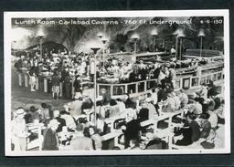 Carte Photo - Lunch Room - Carlsbad Caverns - 750 Ft Underground - Etats-Unis