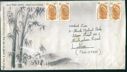 D172- Postal Used Cover. Posted From India To Pakistan - India
