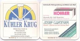 #D51-312 Viltje Familienbrauerei Kühler Krug - Sous-bocks