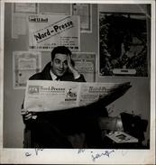 AUTOGRAPHES - CELEBRITES - JACQUES .... - Théâtre PACRA à Paris - Dédicace - Journal Nord-Presse - Autographes