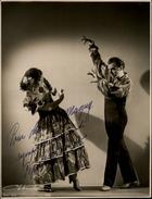 AUTOGRAPHES - CELEBRITES - PEPITO ....- Théâtre PACRA à Paris - Dédicace - Danseurs - Flamenco - Autographes