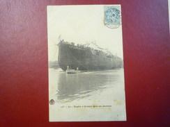 """Le  """" DUPLEIX """"  Croiseur Après Son Lancement   1905 - Krieg"""