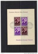 BELGIQUE, COB BL 7, OBL. - Blocks & Kleinbögen 1924-1960