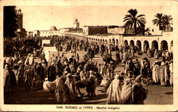 Algérie - Scènes Et Types - Marché Indigène - Scènes & Types