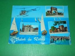 Cartolina Saluti Da Rimini - Vedute Diverse 1967 - Rimini