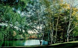 The Lake At Mead Memorial Park, New Canaan, Conn. - Etats-Unis