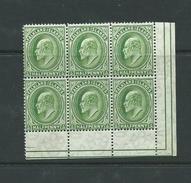 Falkland Islands Stamps Edward V11 Sg43 Mnh - Falkland Islands