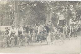 Sports – Carte-photo Groupe De Cyclistes, Avignon ? - Radsport