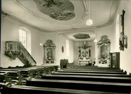 AK Geislingen Kr. Aalen, Kath. Pfarrkirche St. Nikolaus, O 1958 (18415) - Other
