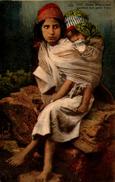 Algérie - Jeune Mauresque Gardant Son Petit Frère - Women
